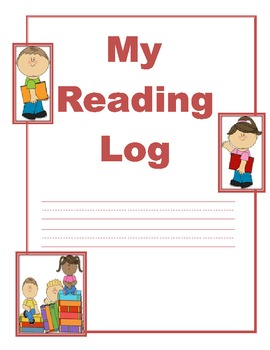 Reading Log Covers