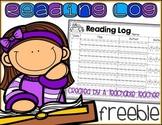 Reading Log FREE