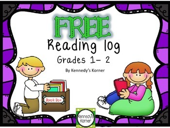 Reading Log FREEBIE ~ Grades 1-2