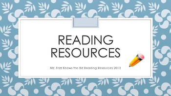 Reading Log & Fiction Book Report
