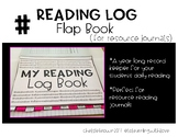 Reading Log Flap (For Resource Journals)
