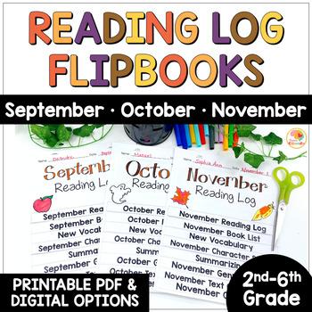 Reading Logs Flip Books