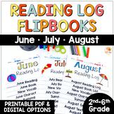 Reading Logs - Summer Flip Books