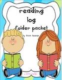 Reading Log Folder Packet