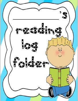 Reading Log Folder Packet