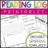 FREE Printable Reading Log Forms & Calendars - Reading Log Templates