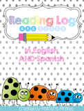 Reading Log & Graph (ENGLISH & SPANISH)