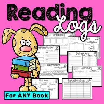 Reading Logs (Homework and Morning Work)