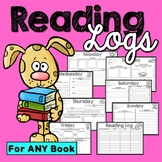 Reading Logs (Homework and Morning Work)