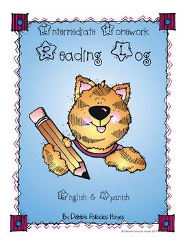 Reading Log Intermediate (English & Spanish)