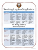 Reading Log Journal with Reader Response Ideas and Rubric