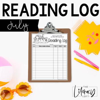 Reading Log {July}
