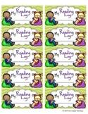 Reading Log Labels