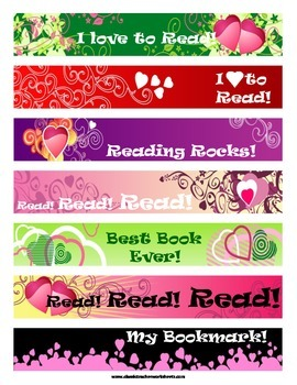 Reading Log Monthly Templates: Happy Face Reading Log - Bonus: Free Bookmarks!!!