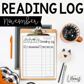Reading Log {November}
