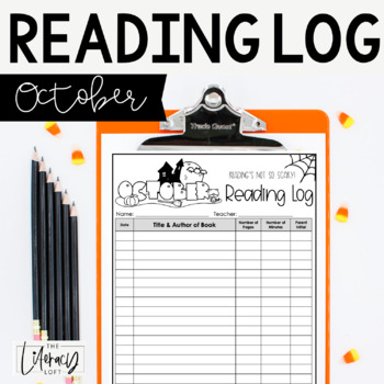 Reading Log {October}