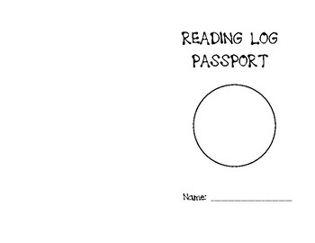 Reading Log Passport