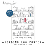 Reading Log Poster