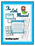 Reading Log / Poster Plus Set - Little Mermaid - Ocean ~  Preschool
