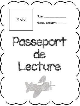 Reading Log Program (with logbooks and bulletin board setup) {French}