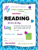 Reading Log Reading Homework Log