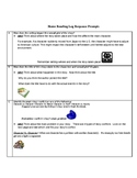 Reading Log Response Prompts