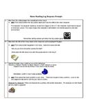 Reading Log Response Prompts