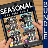 Reading Log Seasonal Book Projects on the iPad BUNDLE