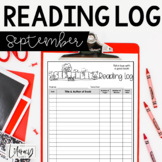 Reading Log {September}