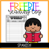 Reading Log Spanish and English