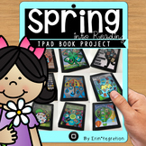 Reading Log Spring Book Project on the iPad