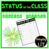 Reading Log - Status of the Class