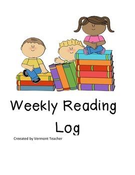Reading Log Template