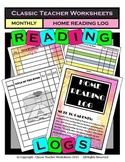 Reading Log Templates: Choose from 3 Different Styles - Bonus: Free Bookmarks!!!