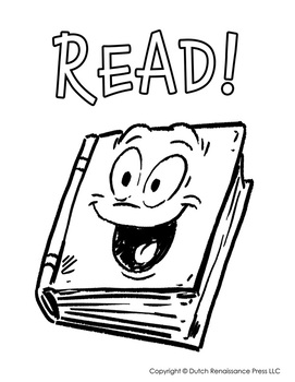 Reading Log Templates and Reading Coloring Page!