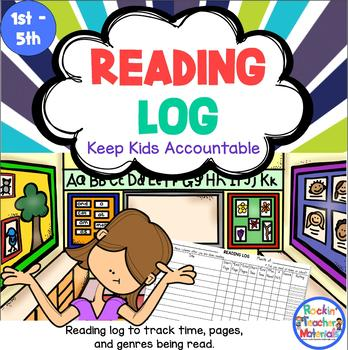Reading Log - Track Time, Pages, and Genres