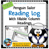 Reading Log With Editable Column Headings