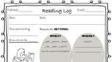 Reading Log With Reading Skills