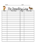 Reading Log and Checkout