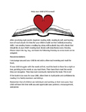 Reading Log and Letter to Families, Help your child love to read