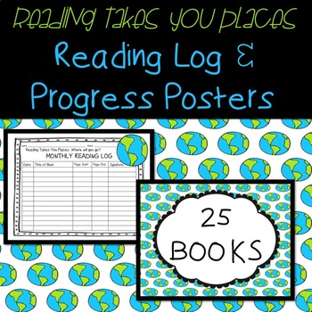 Reading Log and Progress Posters