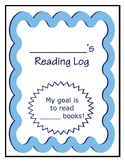 Reading Log for 100 Books