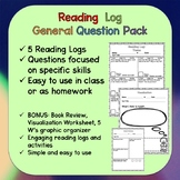 Reading Log for Book Lovers