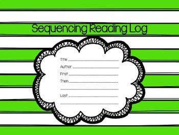Reading Log for Sequencing