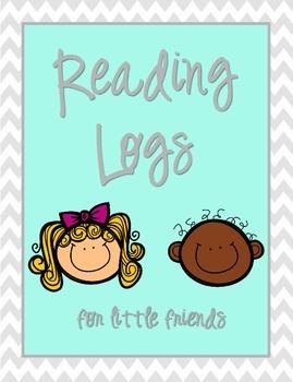 Reading Log for little friends