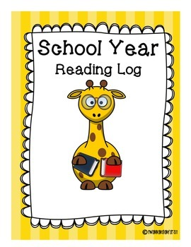 Reading Log for the School Year