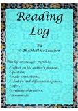 Reading Log in English