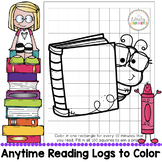 Reading Log to Color