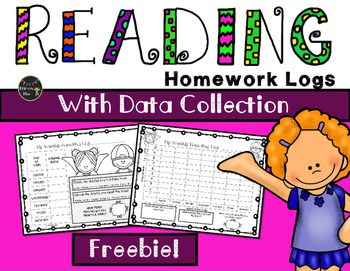 Reading Log with Data Collection {FREE}