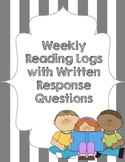 Reading Log with Reading Response Questions